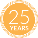 25 years in fundraising