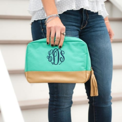 Mint colored bag
