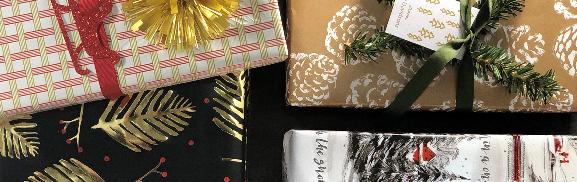 fall wrapping paper