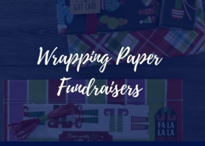 wrapping paper fundraisers