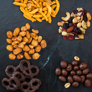gourmet snack mixes